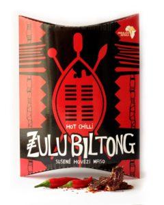 Zulu Biltong | Hot Chilli - hovězí sušené maso