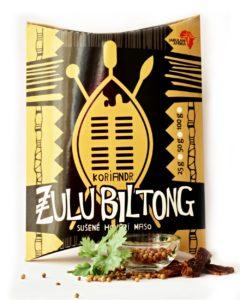Zulu Biltong | Koriandr - hovězí sušené maso