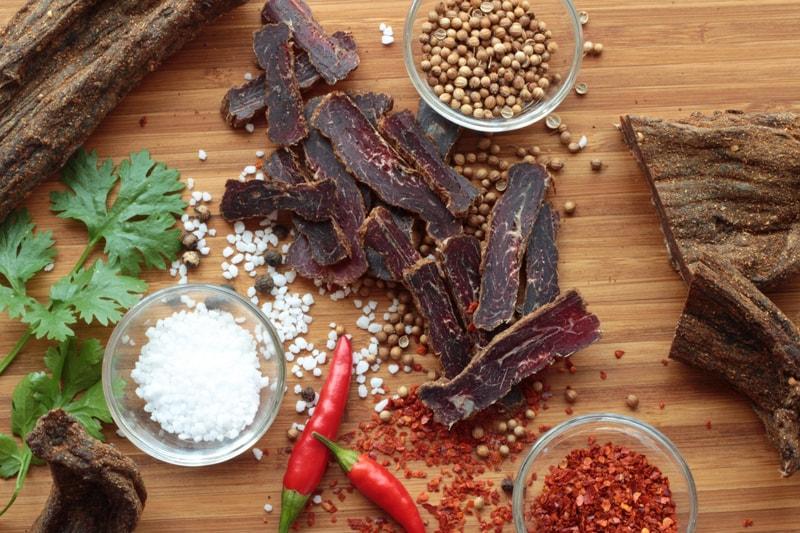 ZULU BILTONG | Mix - hovězí sušené maso