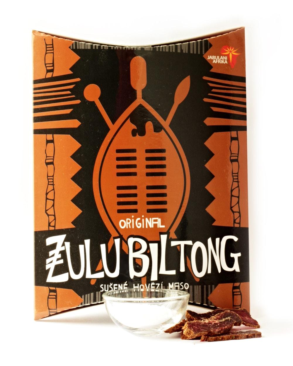 Zulu Biltong | Original - hovězí sušené maso